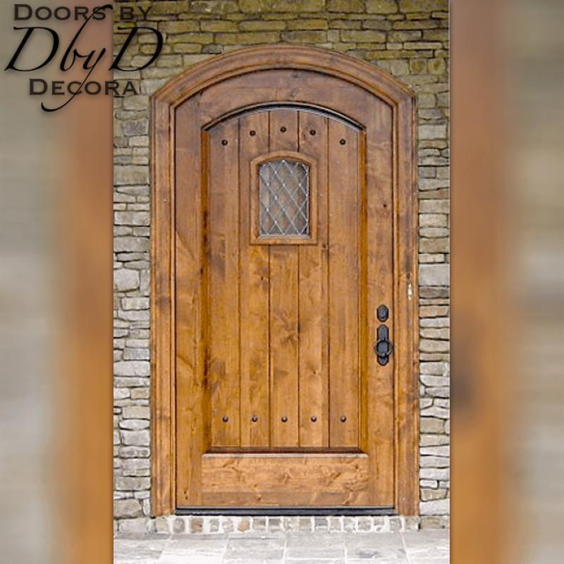 Our standard speakeasy door with a segment top.